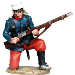 EE 001 toy soldier Regimiento infantería Málaga 1888 1