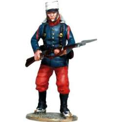 EE 004 toy soldier infantry regiment málaga 1888 4