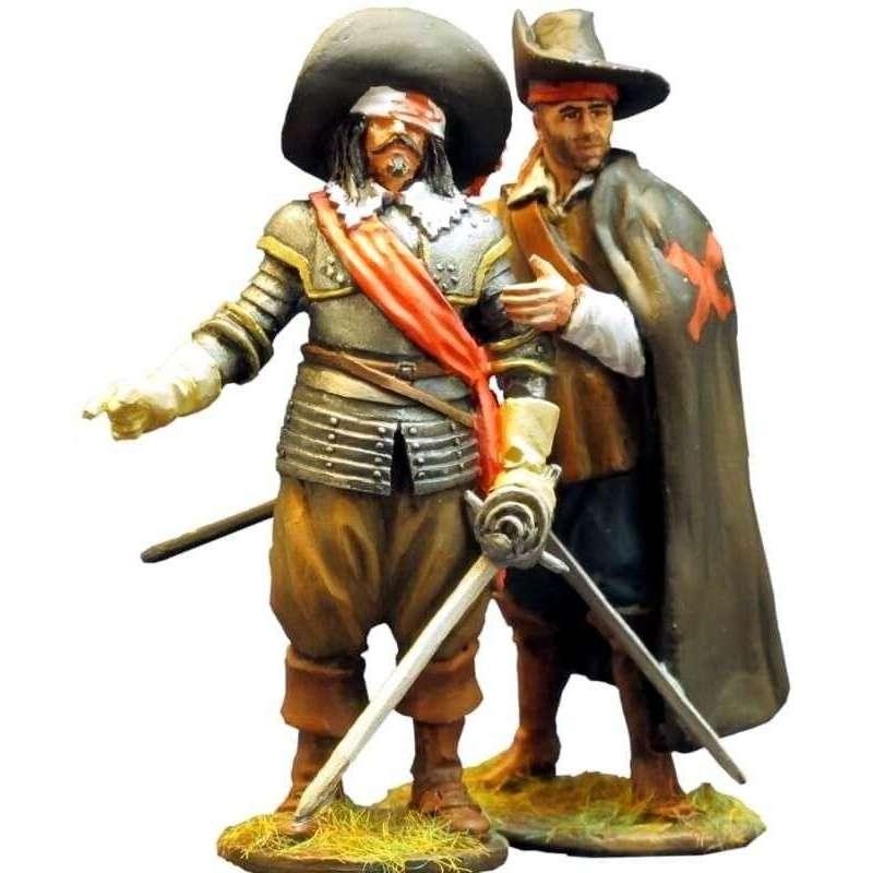 TYW 005 Spanish tercio officer & musketeer