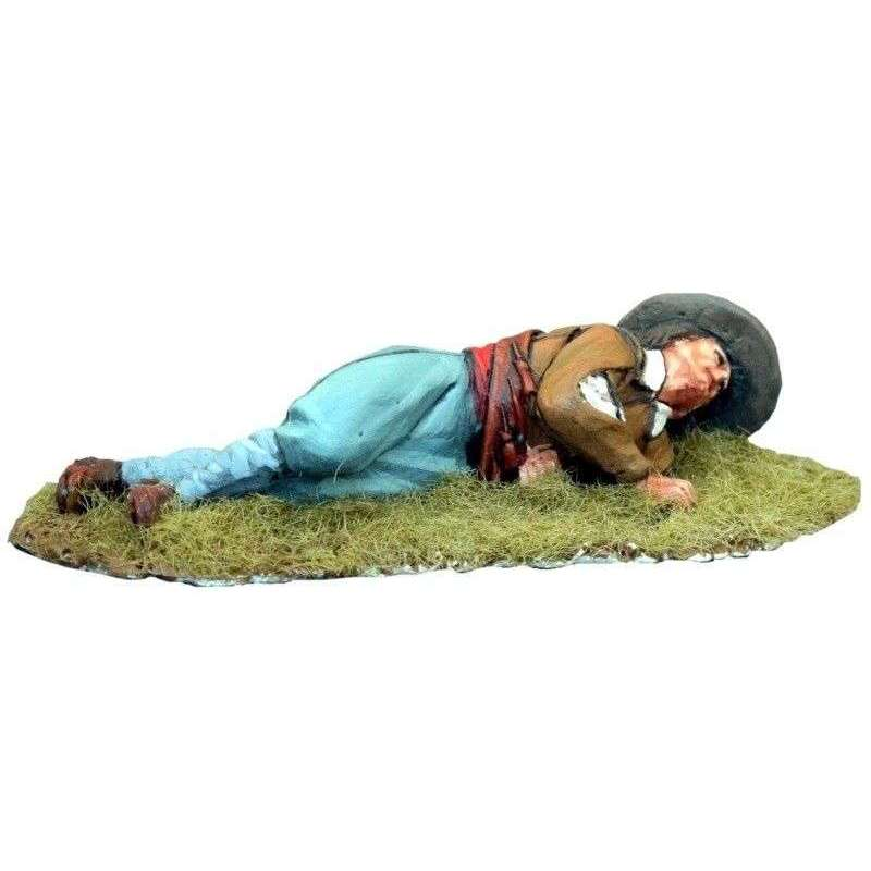 TYW 022 Spanish musketeer wounded
