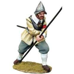 TYW 027 toy soldier pikeman 9 rocroi