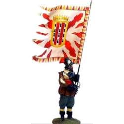 TYW 029 Bandera coronela tercio Cartagena Rocroi