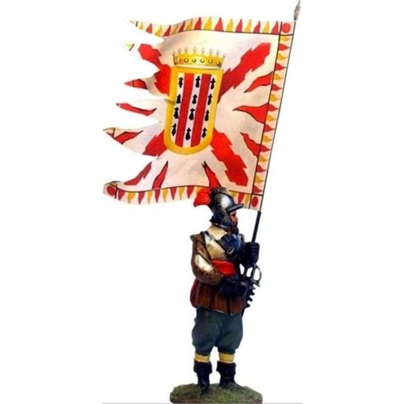 Bandera coronela tercio Cartagena