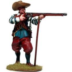 TYW 030 Firing spanish musketeer with chambergo Rocroi