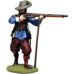 TYW 032 Firing spanish musketeer with chambergo 2 Rocroi