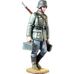 WW 113 toy soldier servidor MG wehrmacht