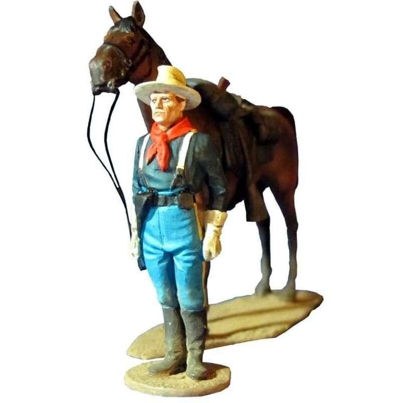 W 008 Soldado caballería Estados Unidos formación de revista 2