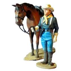 W 009 US cavalry review 3 toy soldier