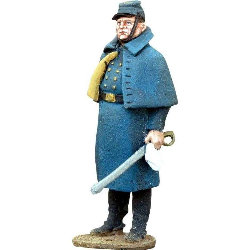 W 011 Sargento Quincannon con abrigo