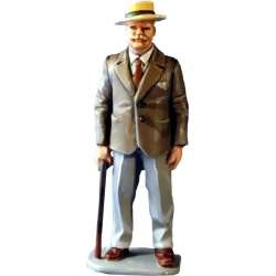 WW 078 toy soldier old man 1940
