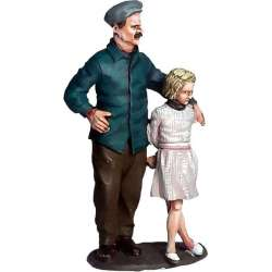 WW 161 toy soldier propietario cafe Normandie hija