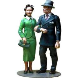 WW 172 toy soldier joven pareja 1939