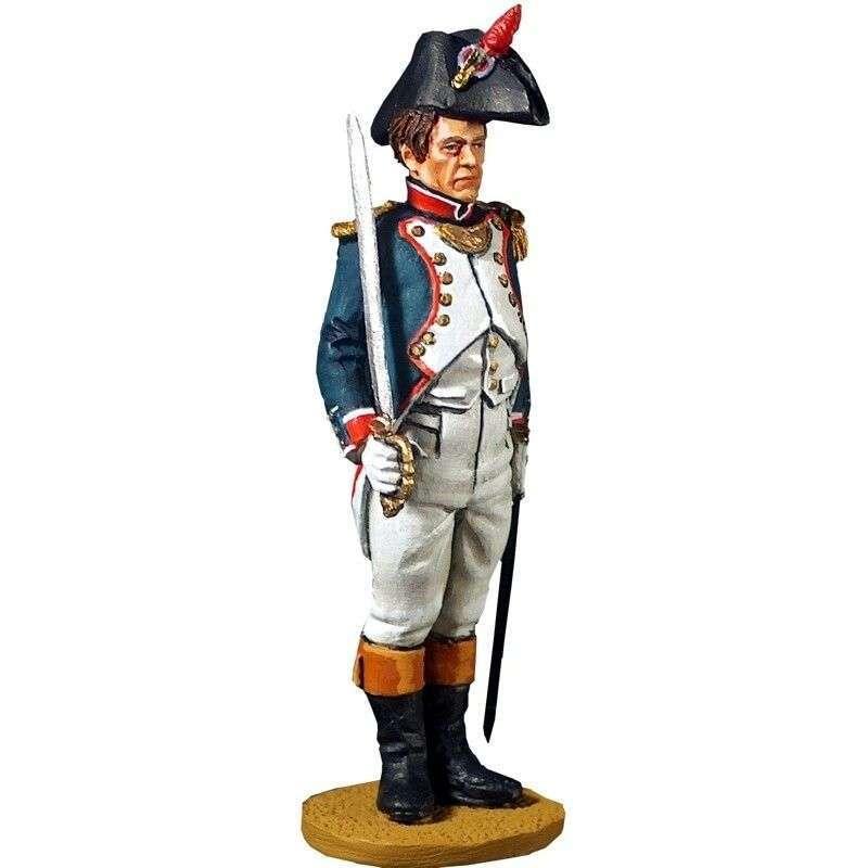 Oficial infantería línea 1804