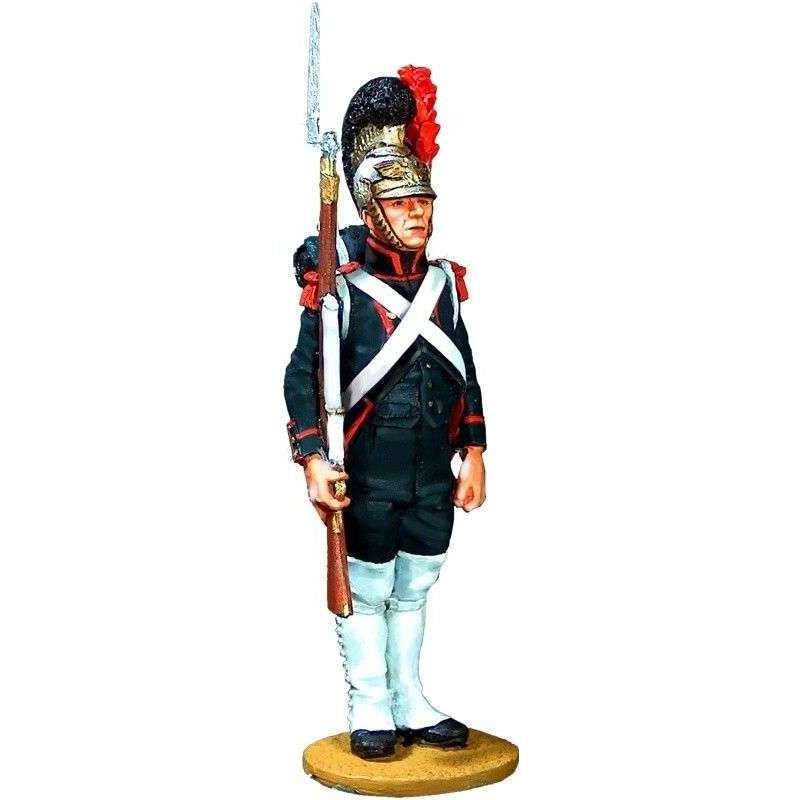 French imperial guard engineers private