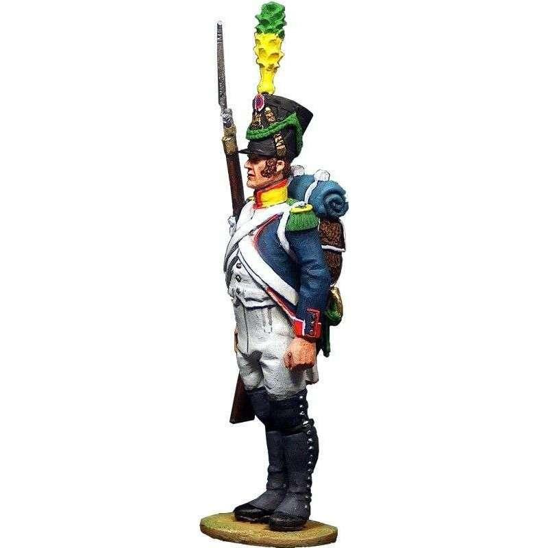 Voltigeur de infantería de línea 1808