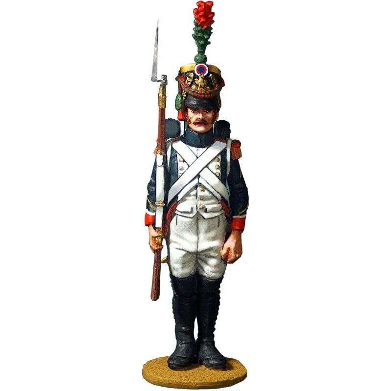 French imperial guard fussiliers chasseurs regiment