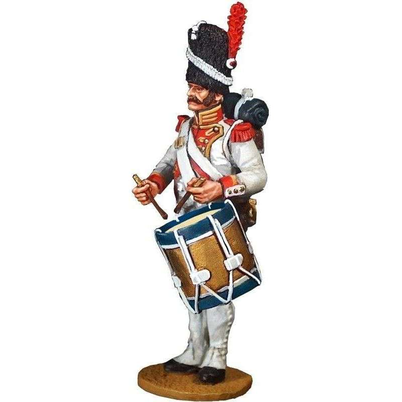 French imperial guard 3rd grenadier drummer