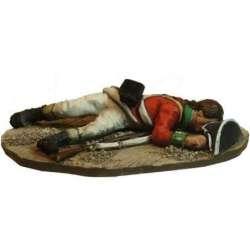 SYW 024 toy soldier soldado británico muerto