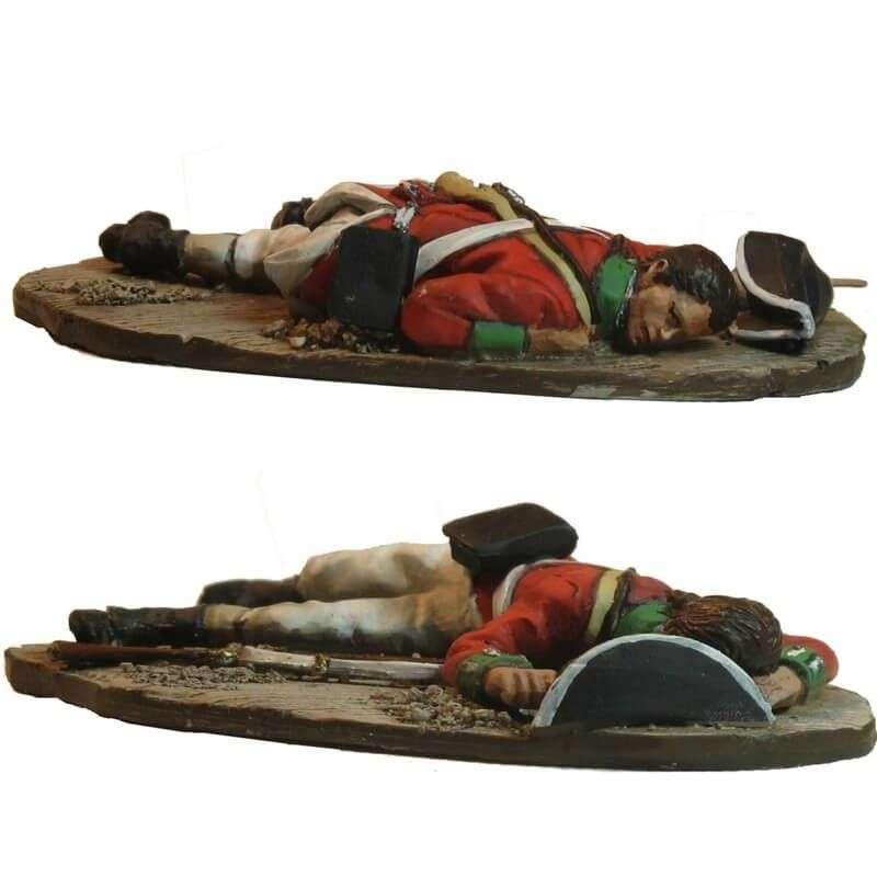 Soldado británico caído