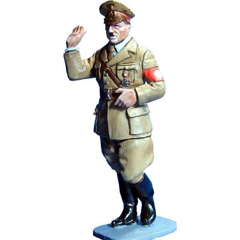 WW 122 Lider nacional paeando y saludando