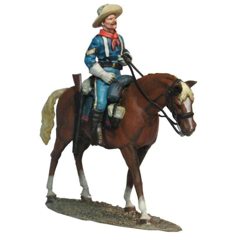 Sargento caballería patrulla