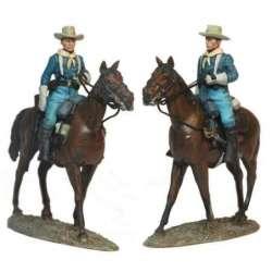 Soldado caballeria USA patrulla