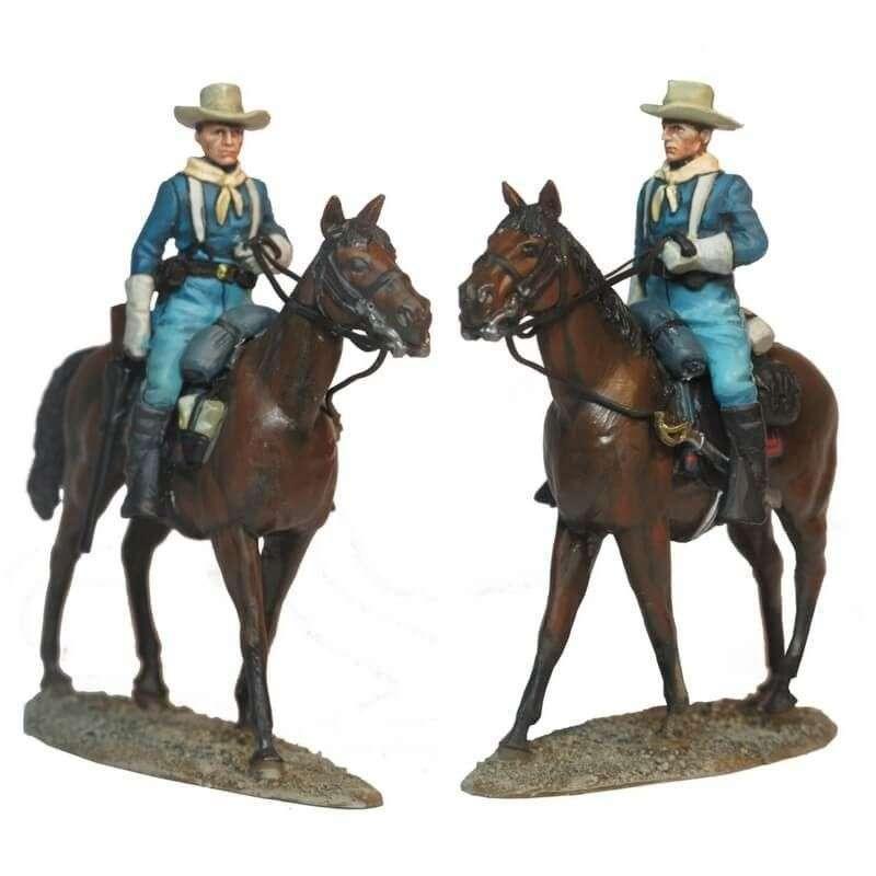 US cavalry trooper trail