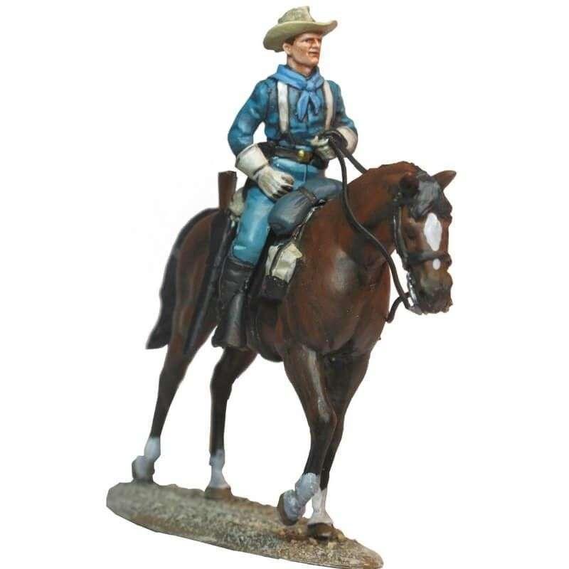 Jinete caballería USA patrulla