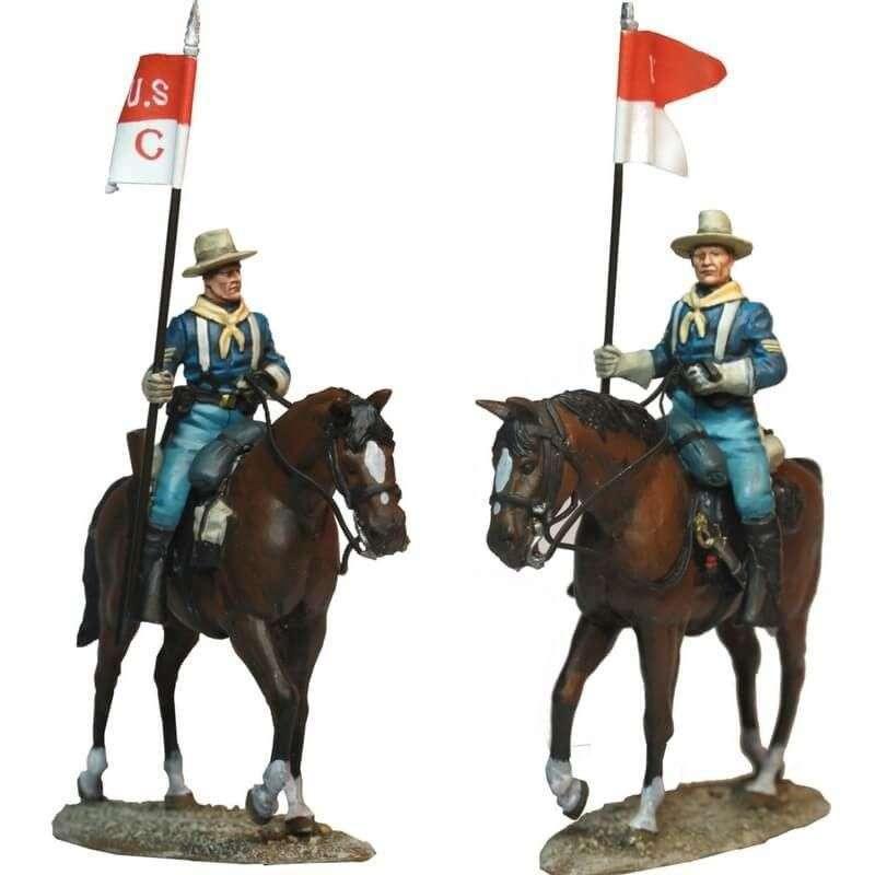Compañía caballería USA patrulla