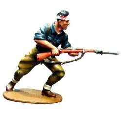 SCW 002 toy soldier falange militiaman charging 1
