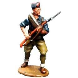 SCW 003 toy soldier falange militiaman charging 2