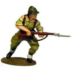 SCW 011 Spanish nationalist infantryman with Adrian helmet