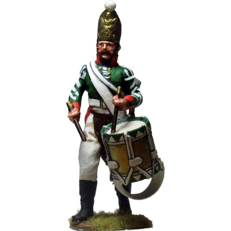 Tambor granaderos regimiento Pavlov