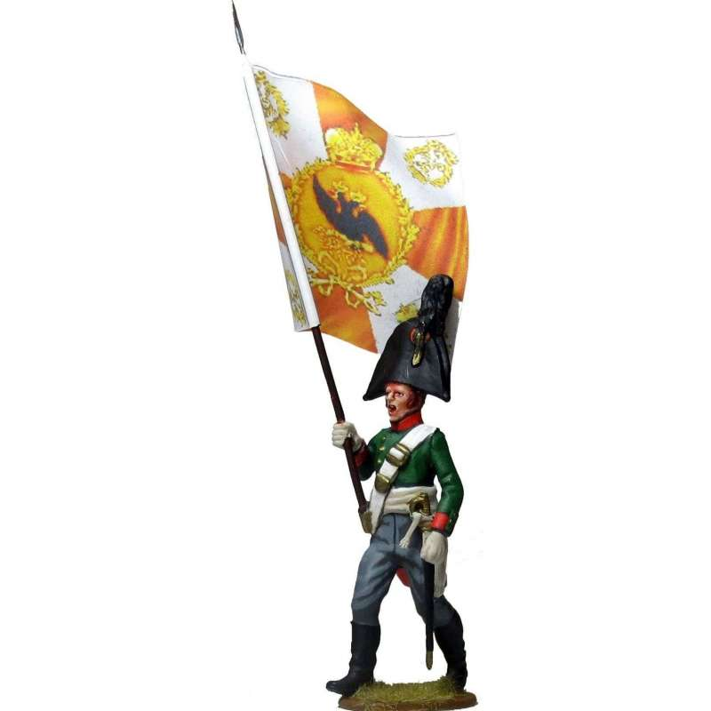 Pavlov grenadiers regiment standard bearer