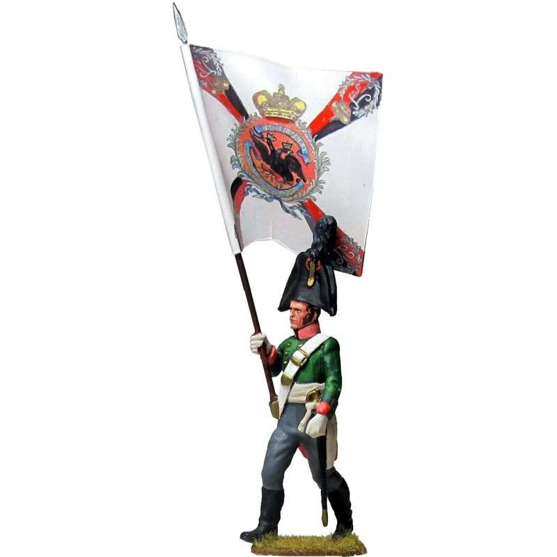 NP 598 Smolensk regiment grenadiers standard bearer