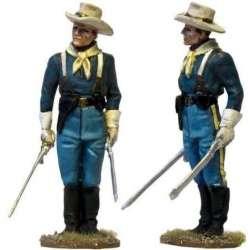 W 038 toy soldier US cavalry officer guard service