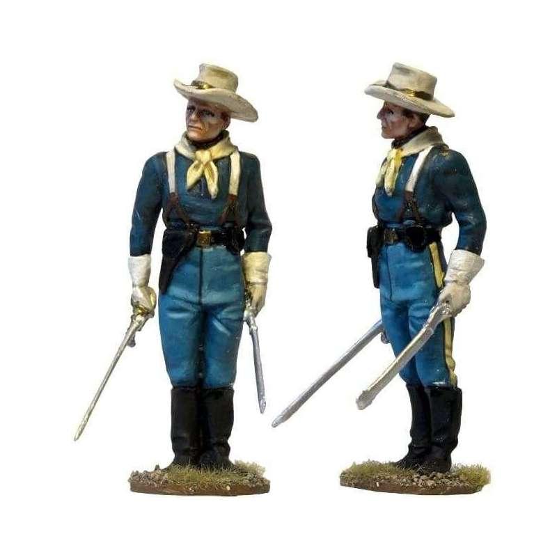 W 038 Oficial de guardia caballería Estados Unidos