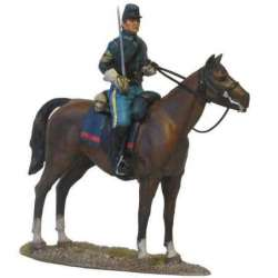 W 039 toy soldier US cavalry sergeant color guard