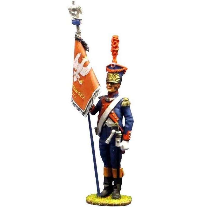 NP 196 Grand Duchy de Varsovie, Legion du Nord standard bearer
