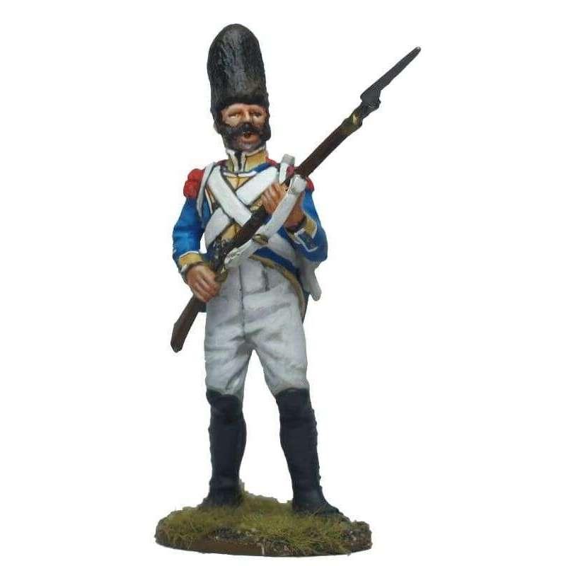 Sargento granaderos regimiento Irlanda en prevengan