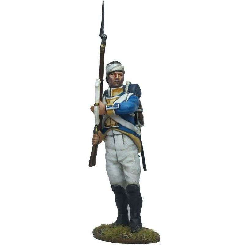 NP 647 Irlanda regiment fussilier ready to fire