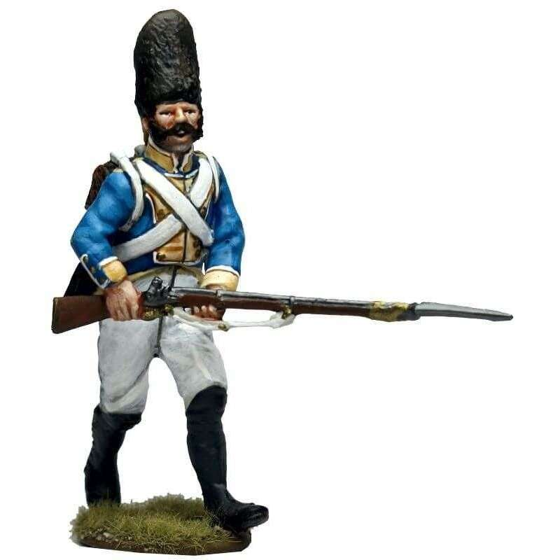 NP 650 Granadero regimiento Irlanda avanzando