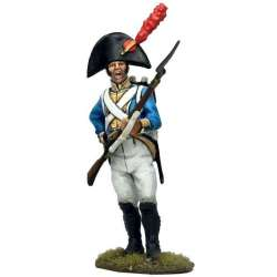 NP 651 toy soldier fusilero irlanda cargando 2