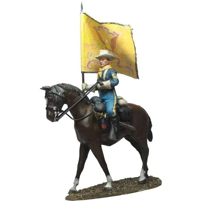 W 045 Regimental flag marching dress US cavalry