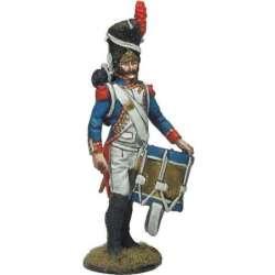 Tambor granaderos guardia imperial descanso formación