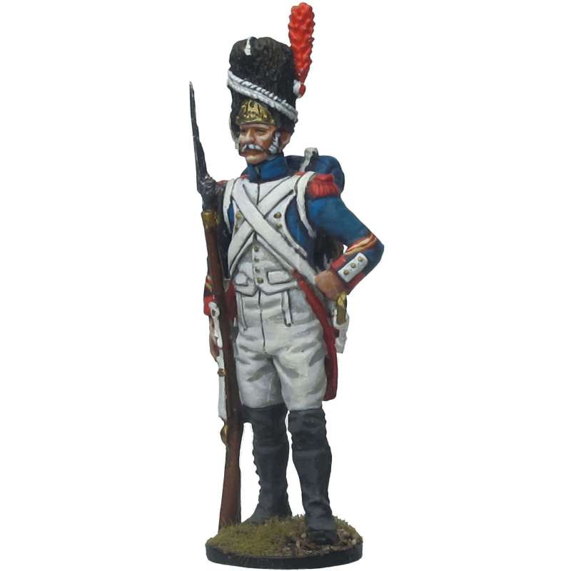 NP 655 French imperial guard grenadier at rest in formation NCO