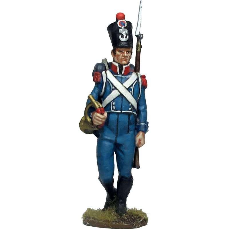 NP 657 Corneta carabineros infantería ligera francesa 1814