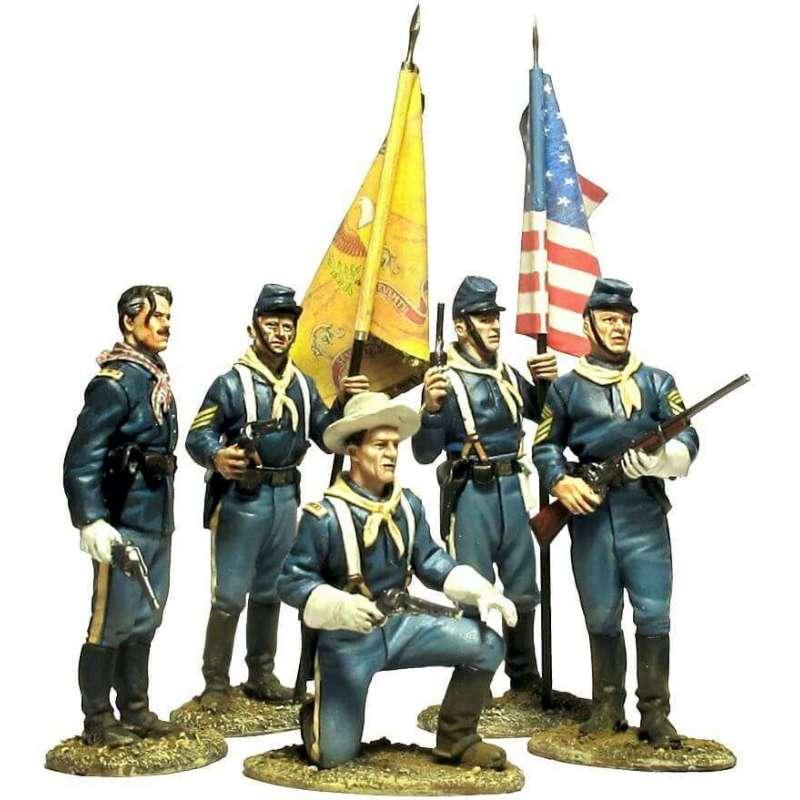 W 047 toy soldier fuerte apache set 1