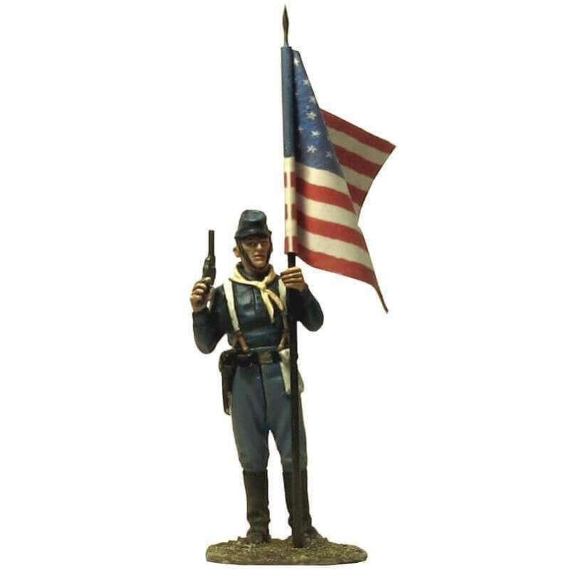 W 051 Sergeant standard bearer national flag fort apache