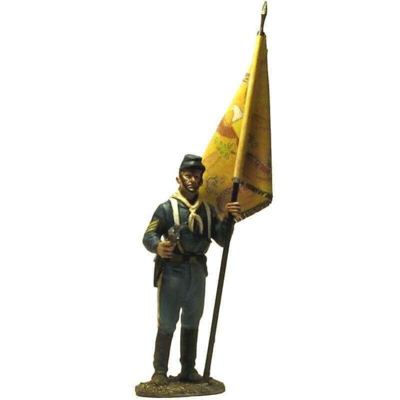 W 052 Sargento abanderado bandera regimental fort apache